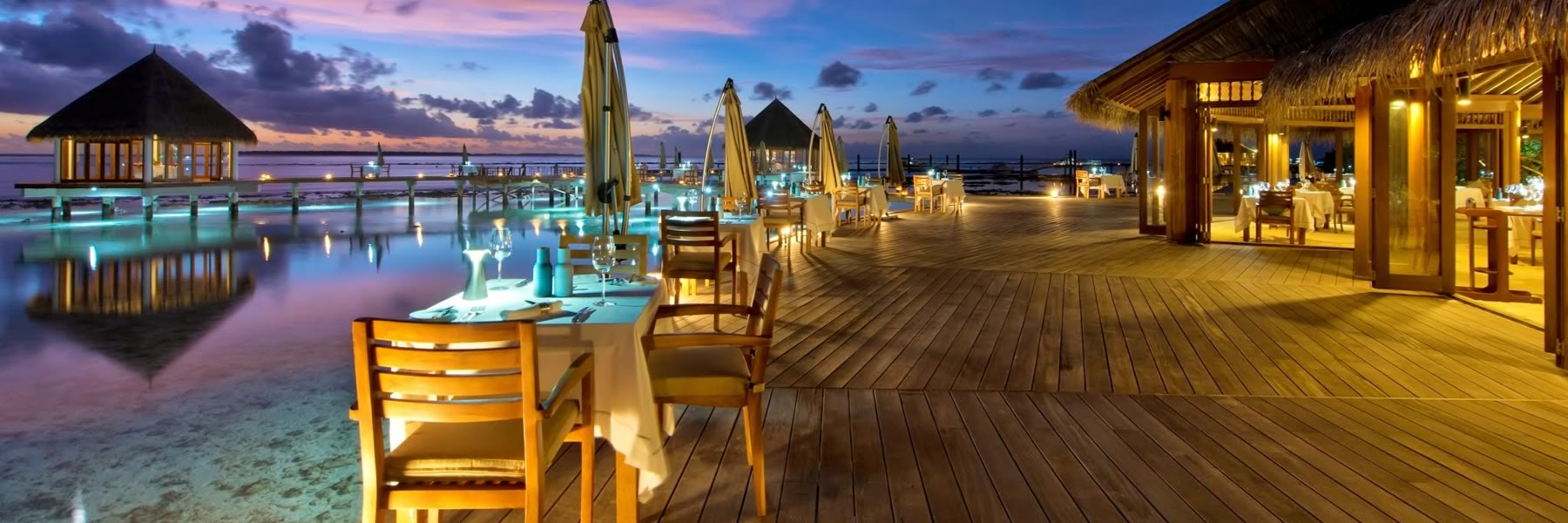 Maldives Nightlife - Hotel Resorts in Maldives - Hideaway Beach Resort