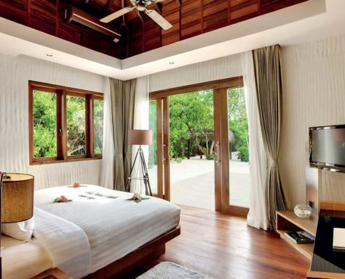 Sunset Beach Villa Maldives - Sunset Water villa Maldives - Hideaway Beach Resort