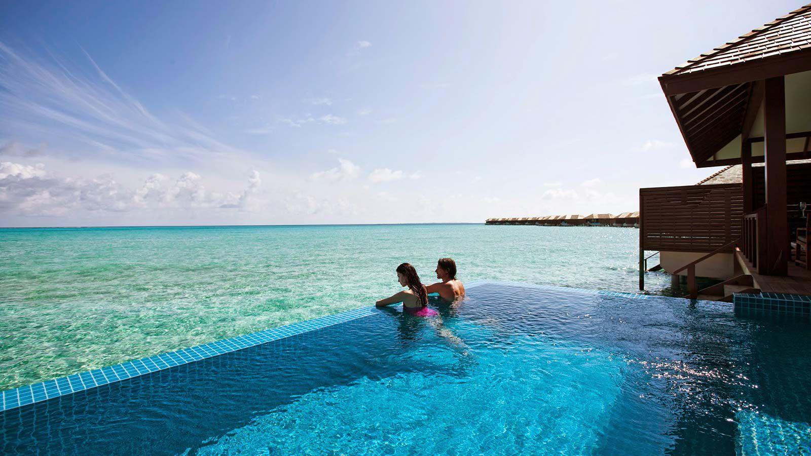Maldives Deluxe Water Villa - Luxury Pool Villas Maldives