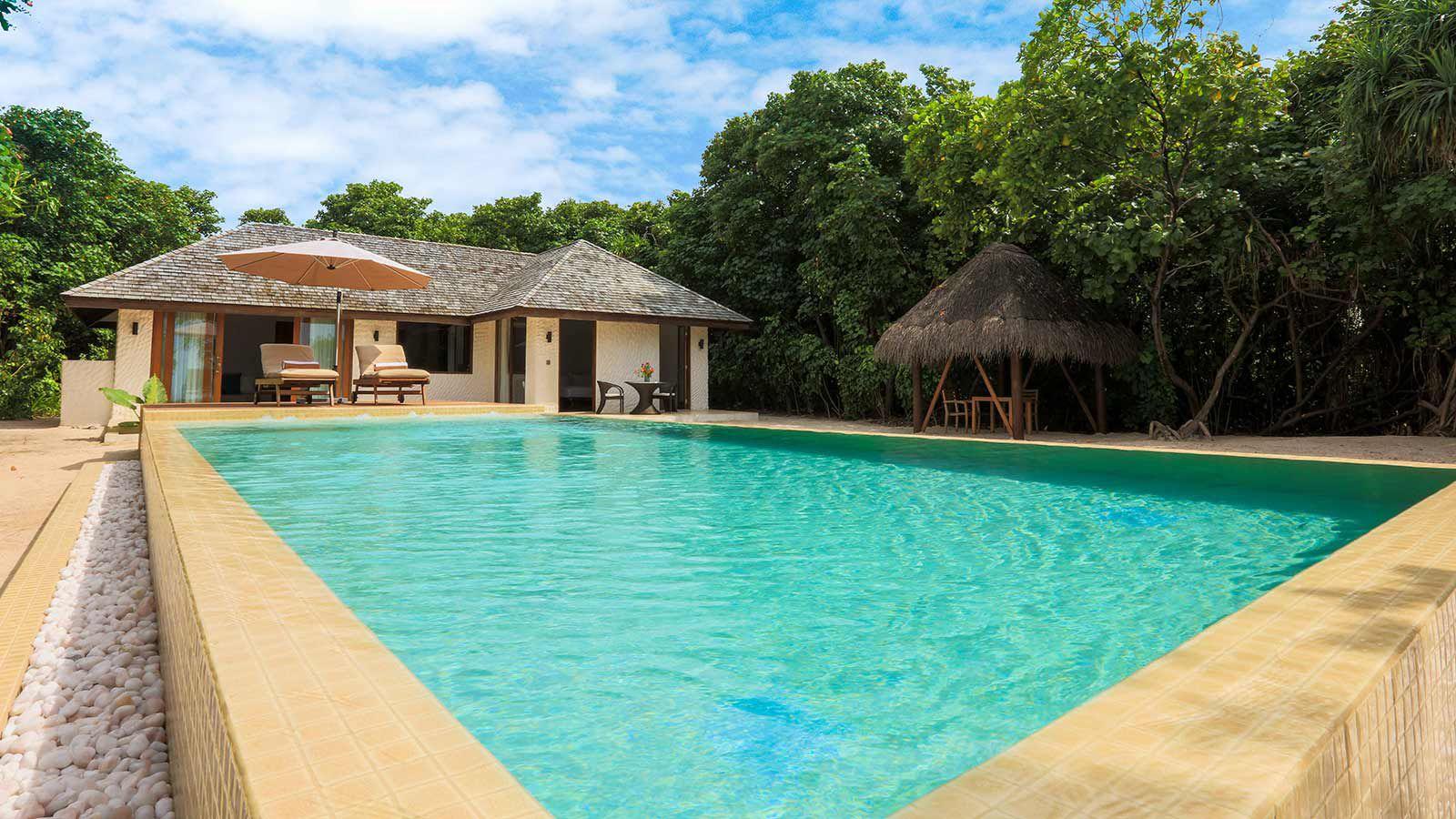 luxury villa maldives beach - photo #12