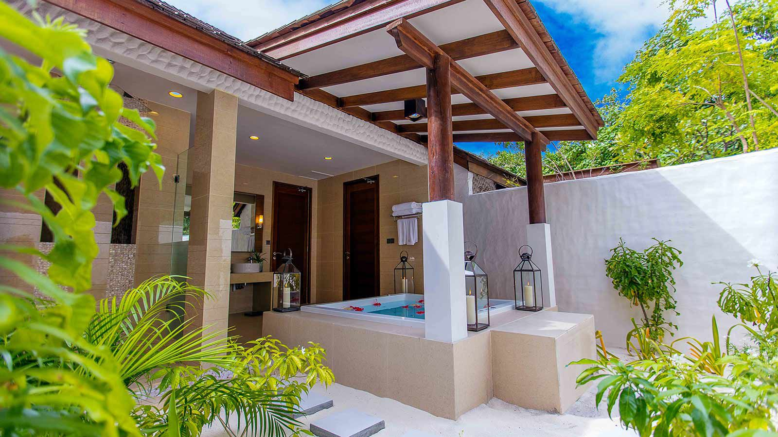 luxury villa maldives beach - photo #28