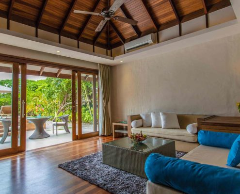 Maldives Deluxe Sunset Beach Villa with Pool - Luxury Villas Maldives - Hideaway Beach Resort