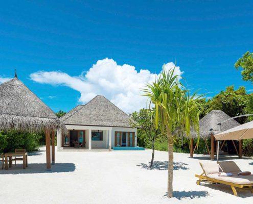 Maldives Resorts - Maldives Beach Residence with Pool - Luxury Villas Maldives - Hideaway Beach Resort
