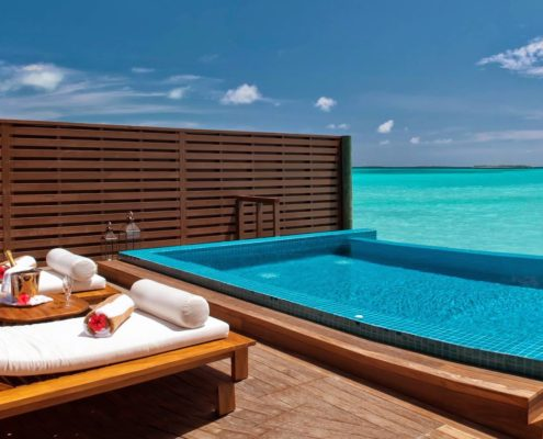 Maldives Resorts - Villas - Ocean Villa Pool - Hideaway Beach Resort & Spa