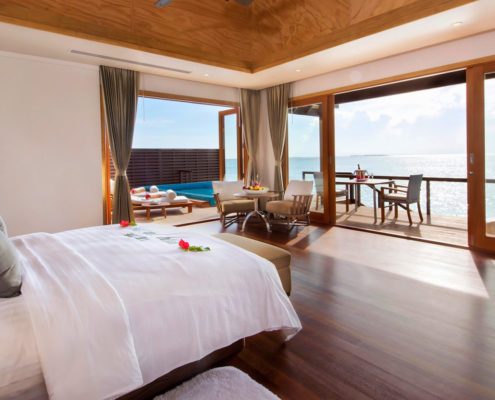 Maldives Resorts - Villas - Ocean Villa - Hideaway Beach Resort & Spa