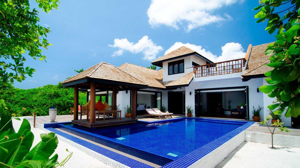maldives family villa with pool luxury 2 bedroom family