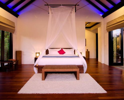 Maldives Resorts - Maldives Villas - Bedroom - Hideaway Maldives Resort Luxury Villas