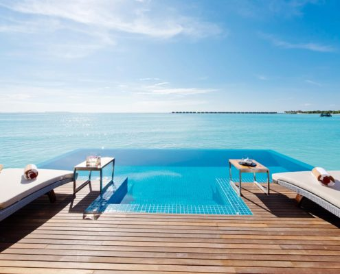 Maldives Resorts - Maldives Ocean Villa - Luxury 2 Bedroom Ocean Pool Villa Maldives - Maldives Latest Offers - Hideaway Maldives Beach Resort & Spa