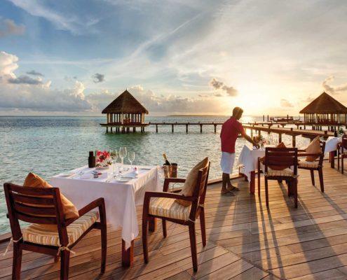 Maldives Resorts - Luxury Villas - Hideaway Palace - Dining