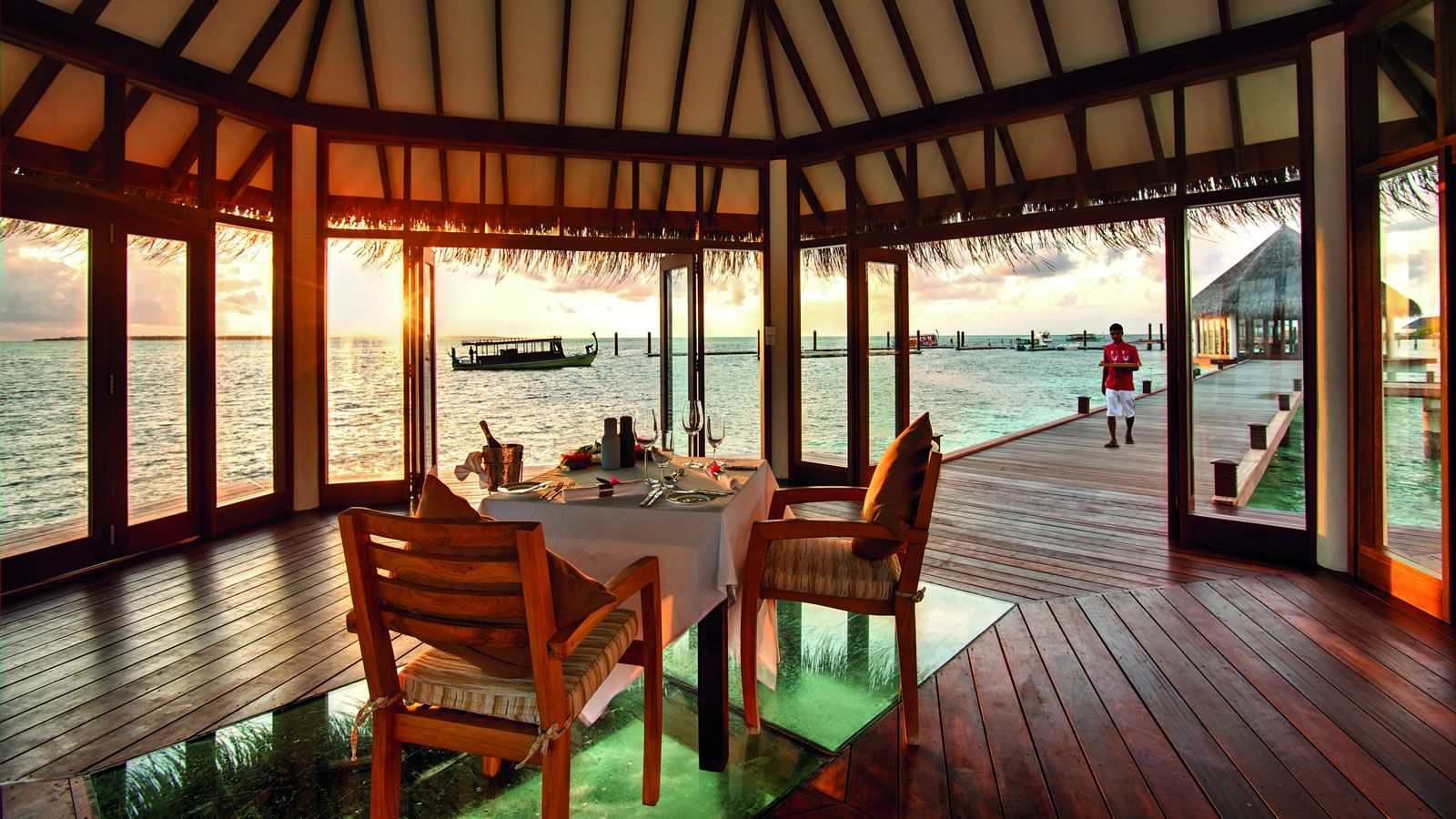 Hideaway Maldives Resort Restaurants