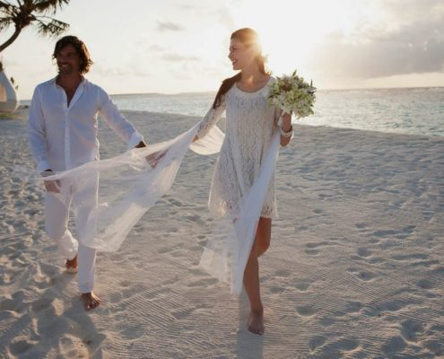 Maldives Wedding in Hideaway Beach - Maldives Best Wedding Packages