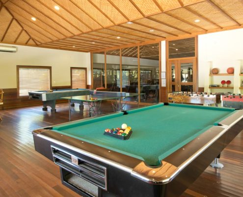 Hideaway Maldives Resort Recreation - Recreation - Billiards