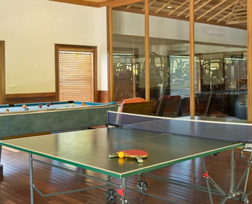 Hideaway Maldives Resort Recreation - Table Tennis Billiards