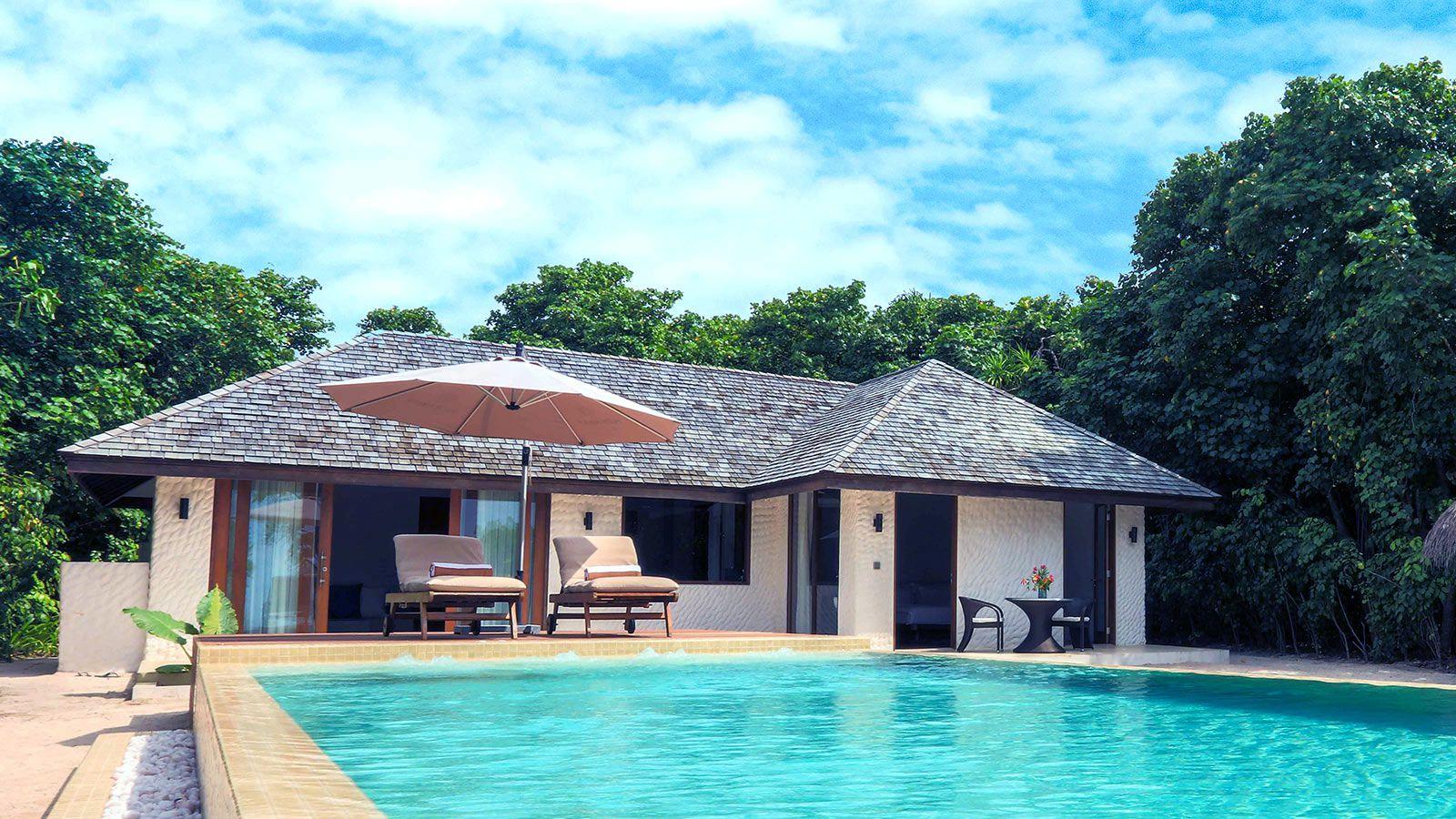 带面积的a面积日落泳池海滩–别墅别墅–385平方米哪个铜陵别墅好图片