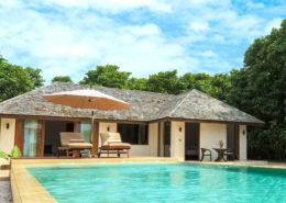 Maldives Deluxe Sunset Beach Villa with Pool - Luxury Villas Maldives - Hideaway Beach Resort