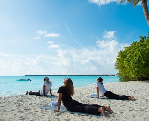 Hideaway Maldives Resort Yoga