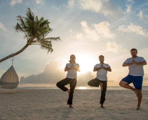 Hideaway Maldives Resort Yoga