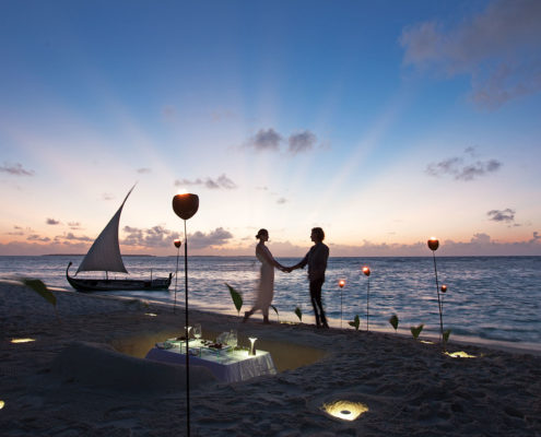 Hideaway Maldives Resort Romance