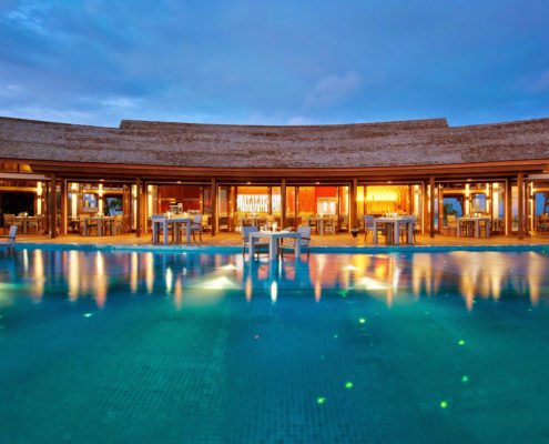 Maldives resorts - Luxury Hotel Awards 2017 - Maldives Food and Drink - Hideaway Maldives Beach Resort & Spa