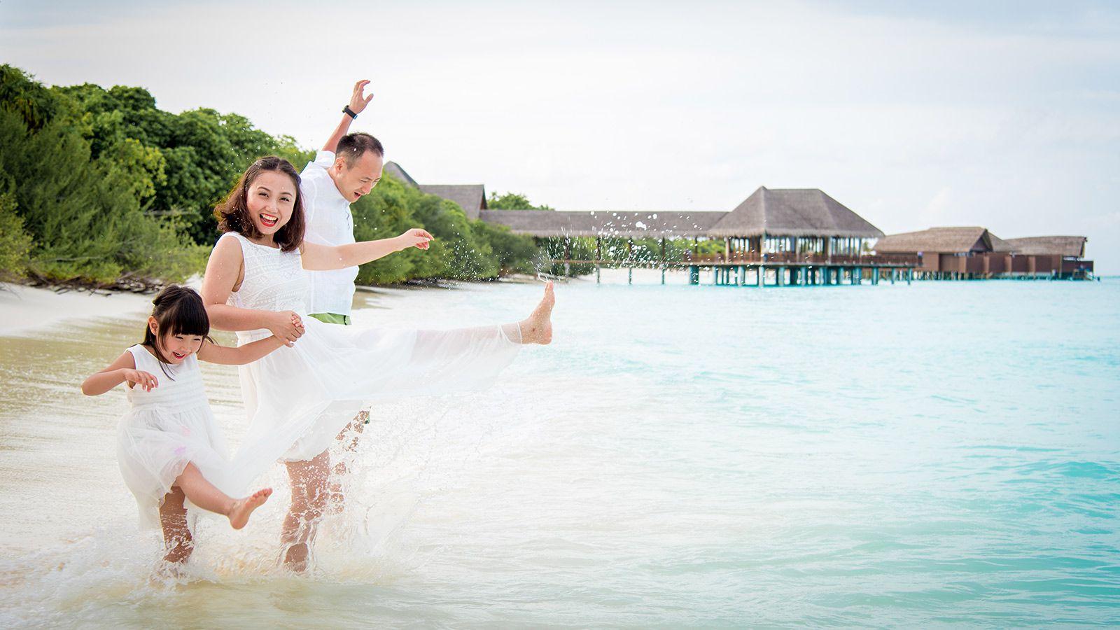 Maldives Resorts - Hideaway Beach Maldives Family Facilities