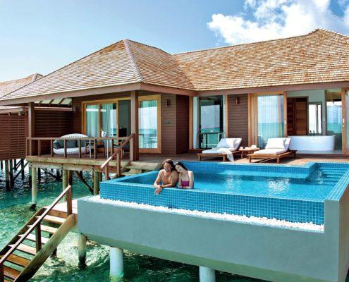 Maldives Honeymoon Resort - Maldives honeymoon Packages - Hideaway Beach Resort