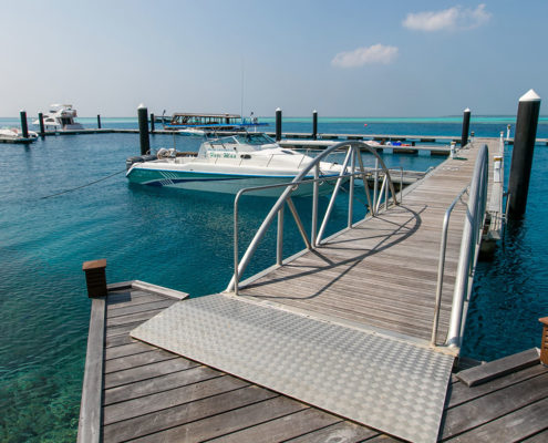 Hideaway Maldives Marina Berthing