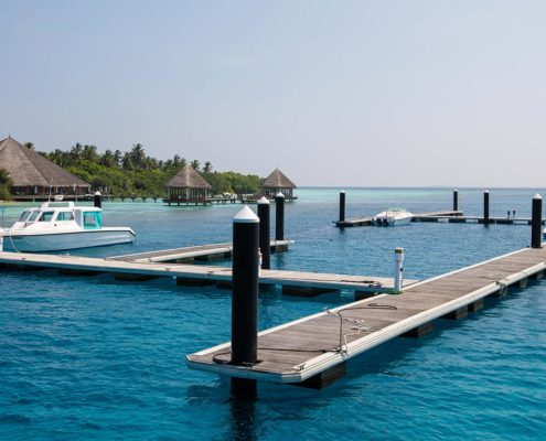 Maldives Resorts - Hideaway Maldives Marina Berthing
