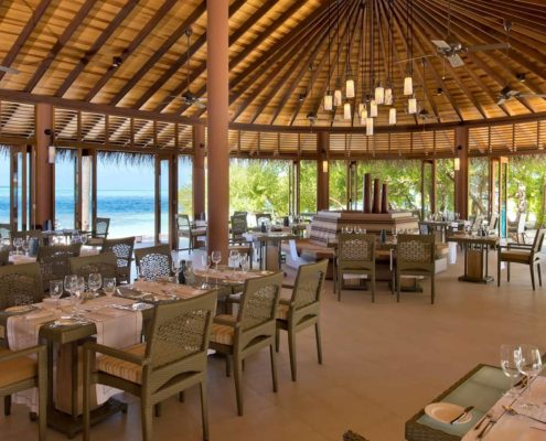 Hideaway Maldives Resort Restaurants - - Meeru Bar & Grill