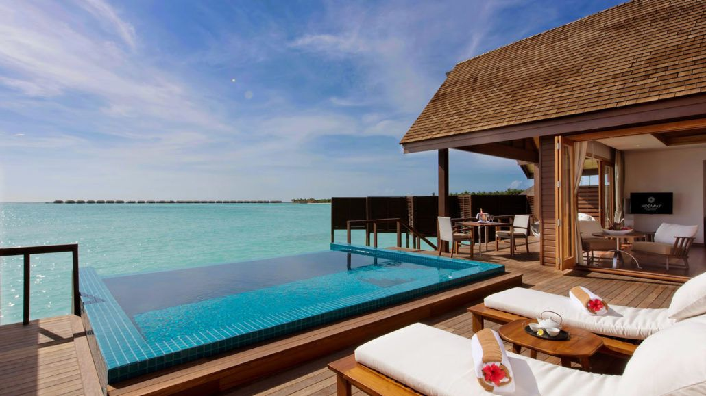 Luxury Pool Villas Maldives: Hideaway Luxury Maldives Resort Image