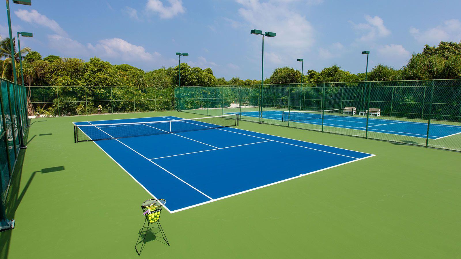 Maldives Beach Resort - Activities - Hideaway Maldives Resort Tennis