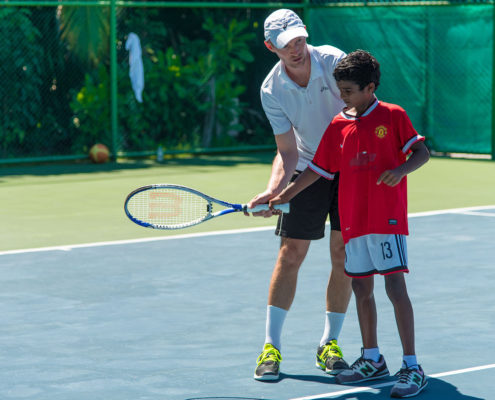 Hideaway Maldives Resort Tennis Lessons