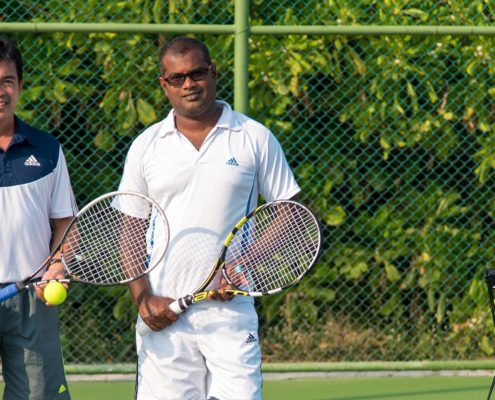 Maldives Resorts - Hideaway Maldives Resort Tennis