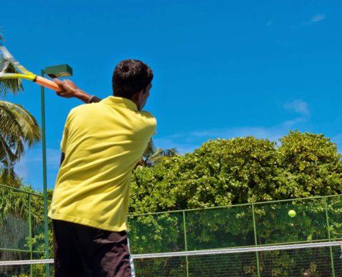 Hideaway Maldives Resort Tennis