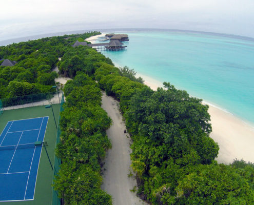 Hideaway Maldives Resort Tennis