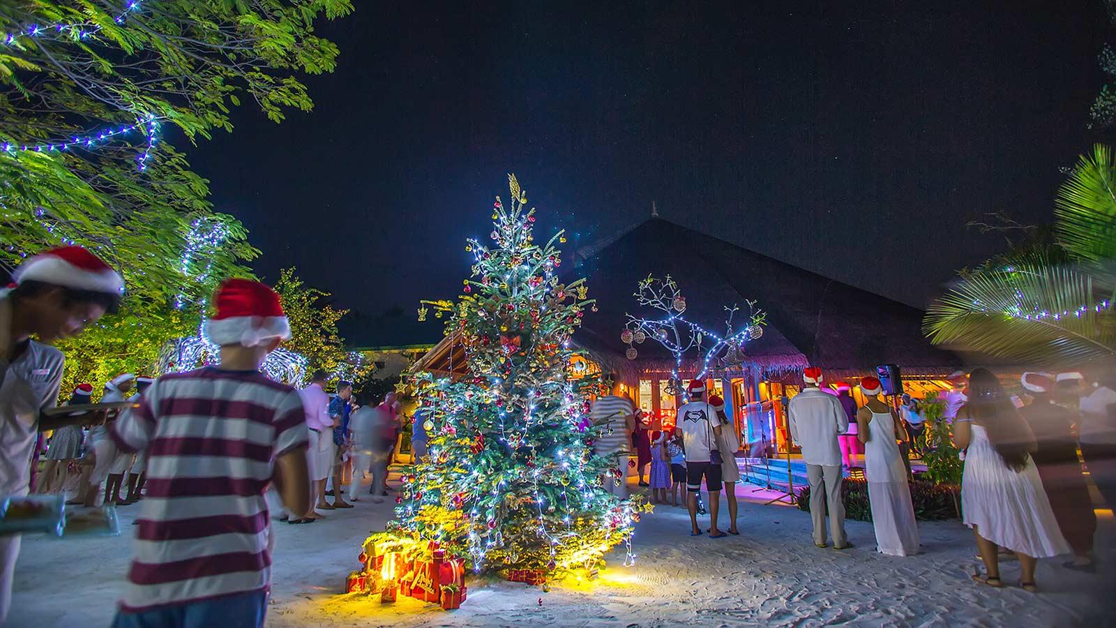 Hideaway Maldives Resort Christmas