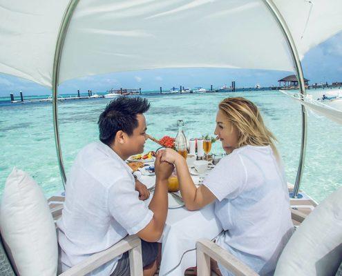 Romantic Couples Excursion Maldives - Hamacland