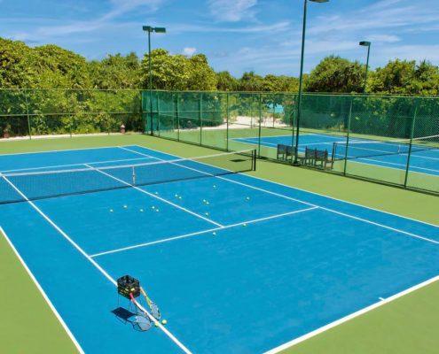 Hideaway Tennis Court