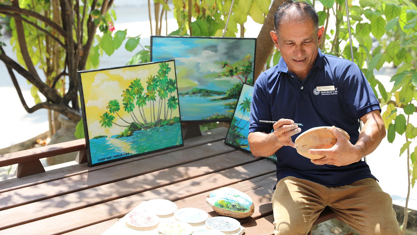 Maldivian Crafts at Hideaway Beach Maldives