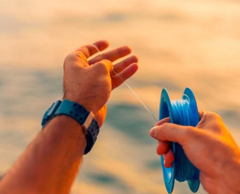Sunrise Handline Fishing