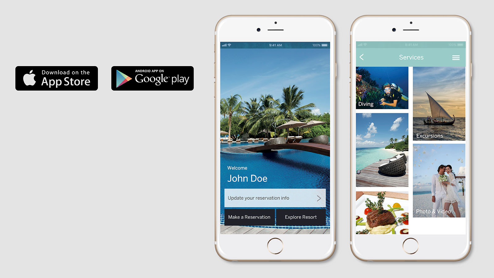 Hideaway Beach Resort & Spa App