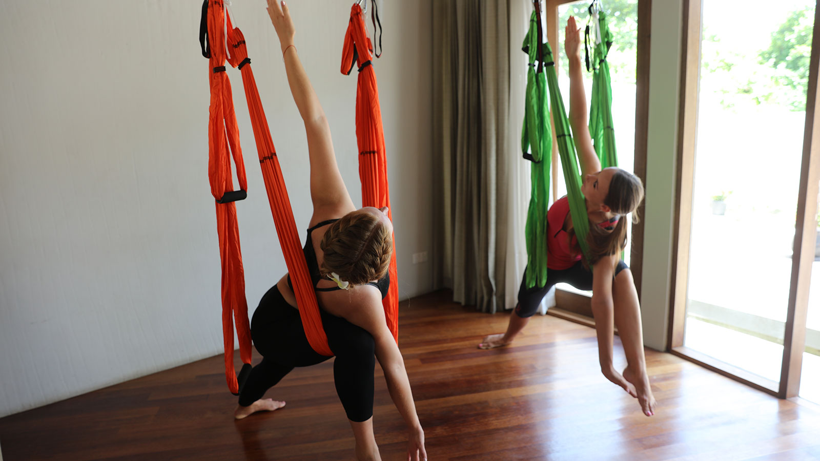Fly Yoga at Hideaway