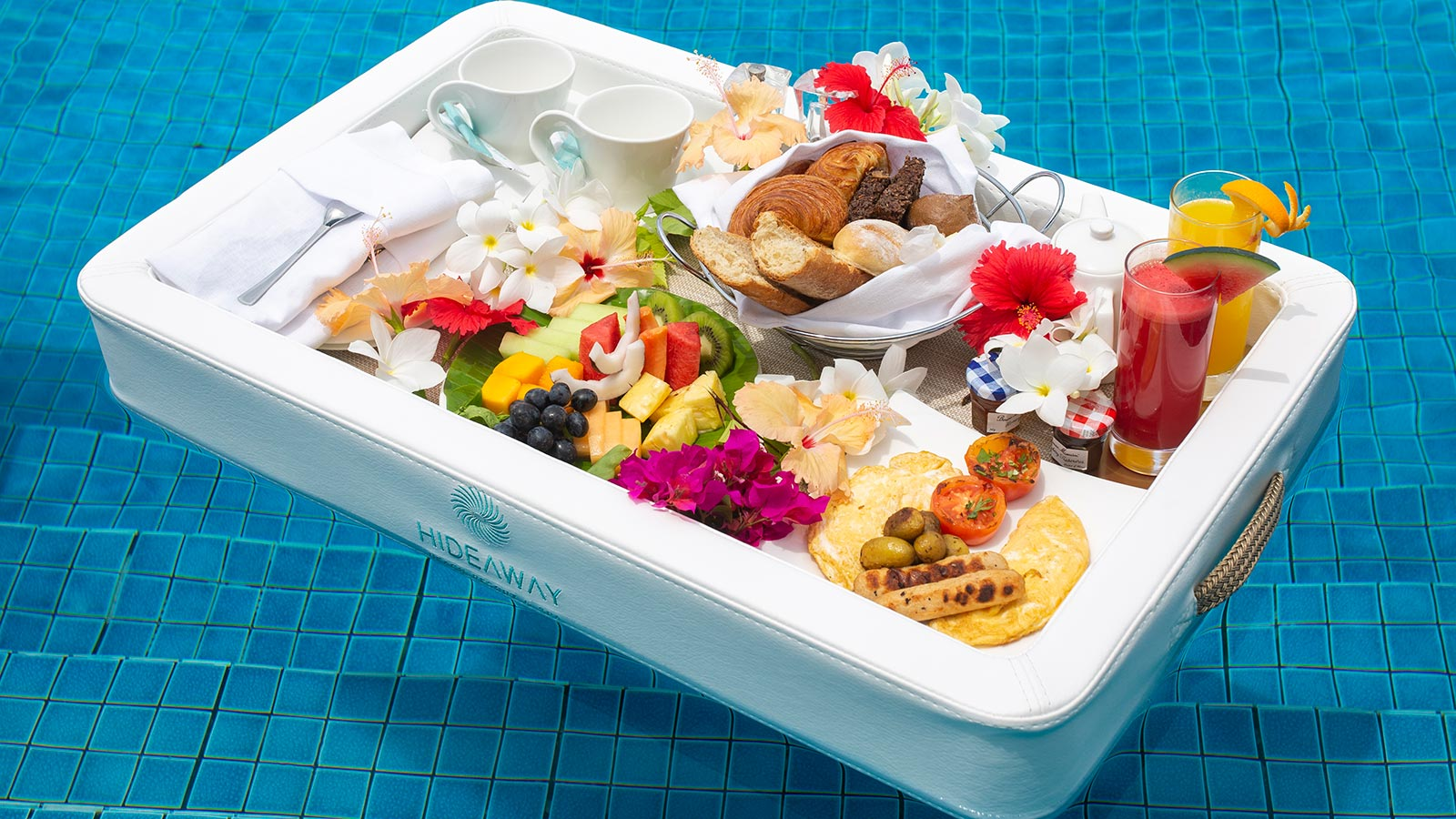 Experience a Floating Breakfast
