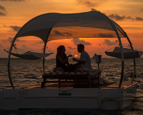 Sunset Romance on Hamacland